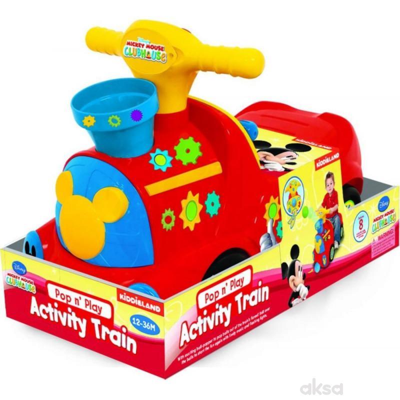 Kiddieland guralica vozić Mickey