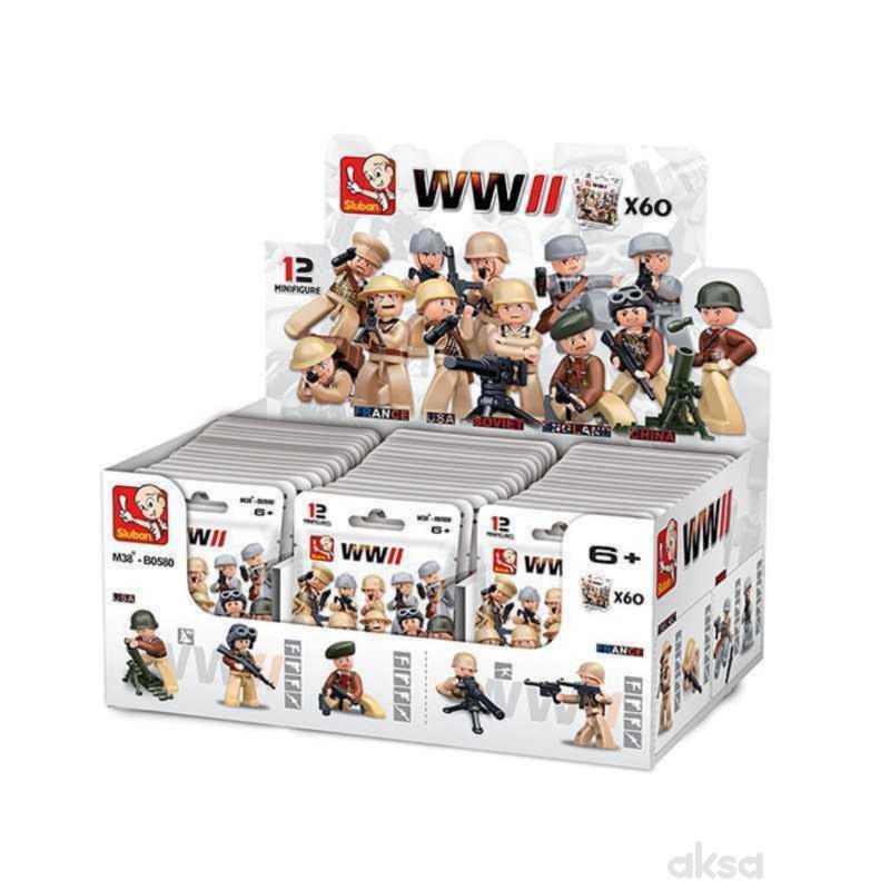 Sluban mini figure II svetski rat