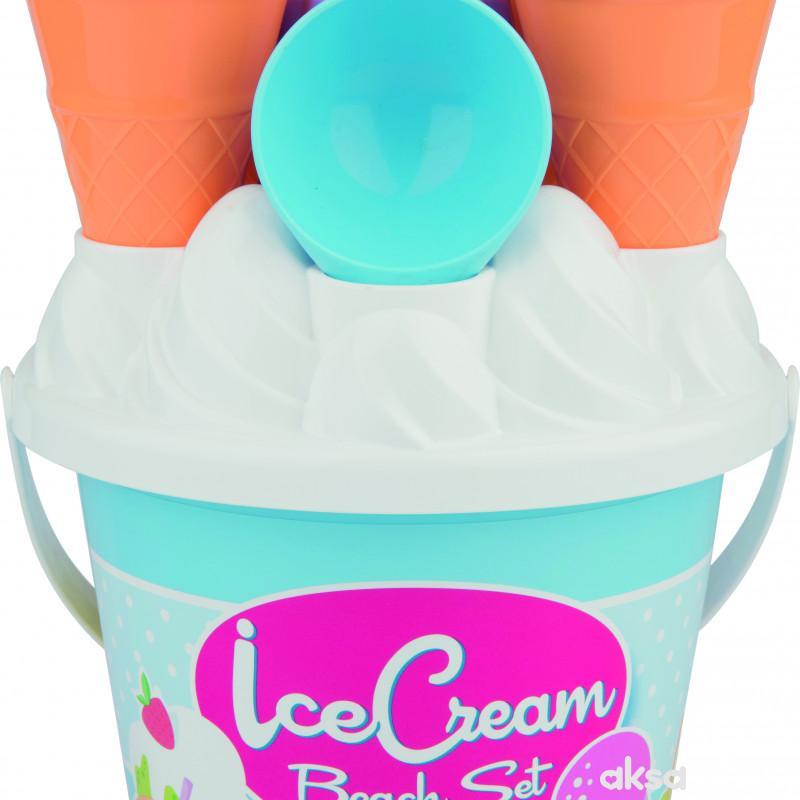 Androni Giocattoli kofica za pesak set Sladoled