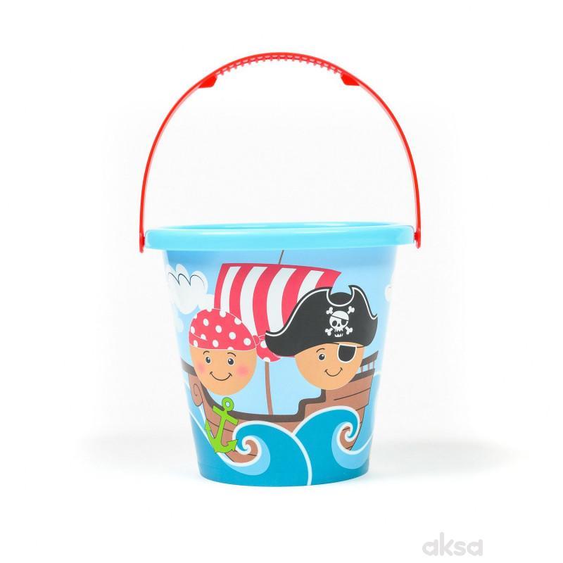 Androni Giocattoli kofica za pesak velika pirati