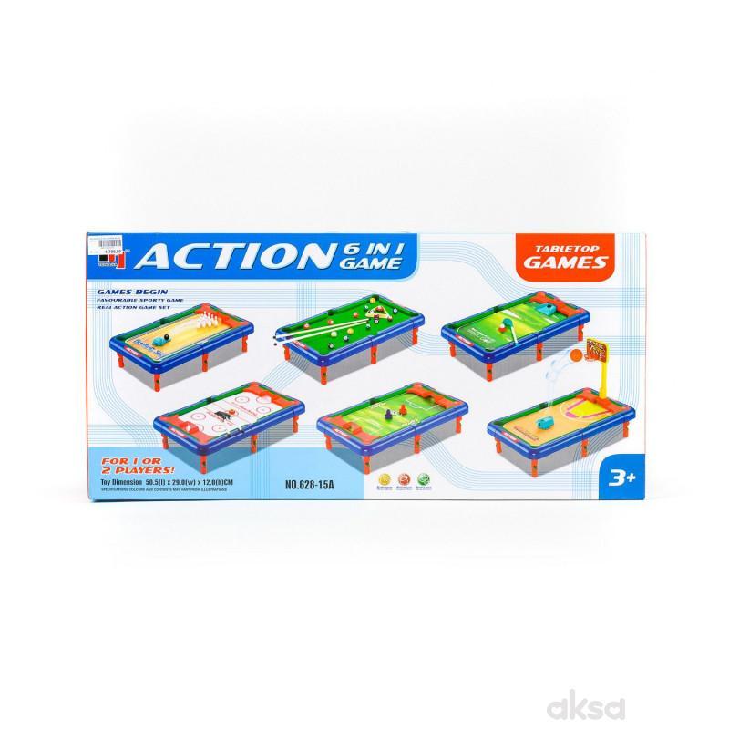 Qunsheng Toys, igračka stone igre 6u1