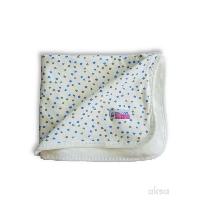 Textil prekrivač Zvezdice,80x90 CM
