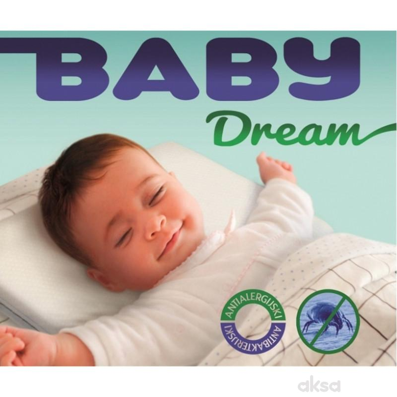 Dušek plus jastuk Baby Dream, dimenzije 30*20*3