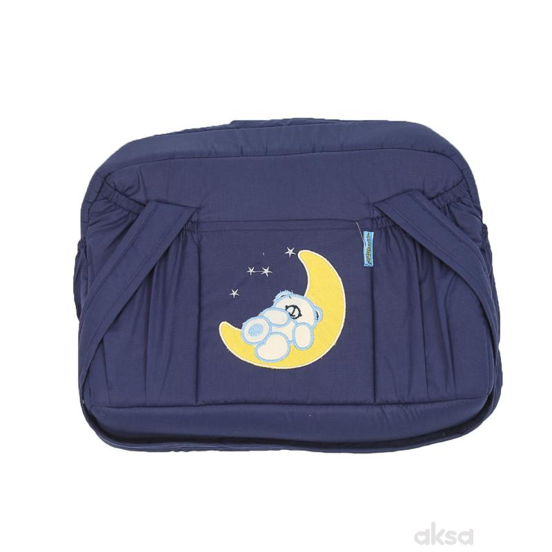 Stefan torba Mesec,teget-žuta