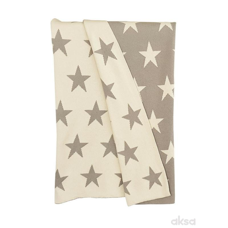 Baby Textil ćebe LUX - ZVEZDICE,80x100CM