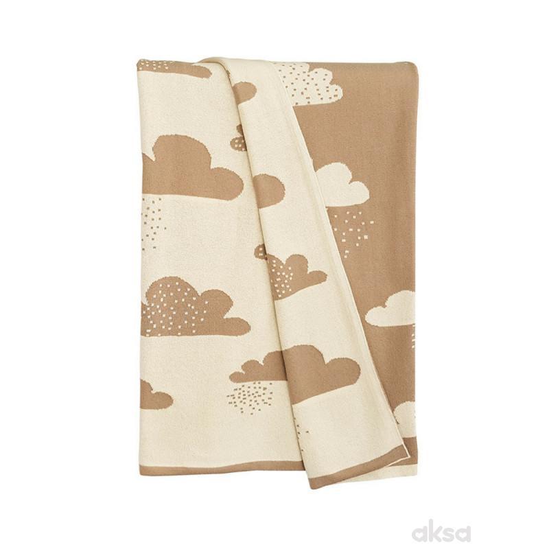 Baby Textil ćebe LUX -OBLAK,80x100CM