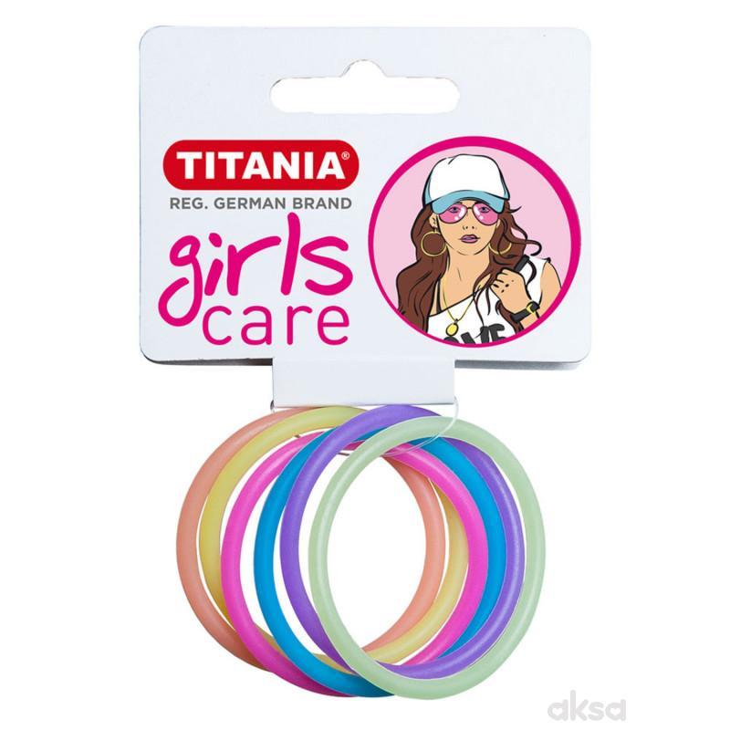 Titania gumica za kosu 6kom 7830