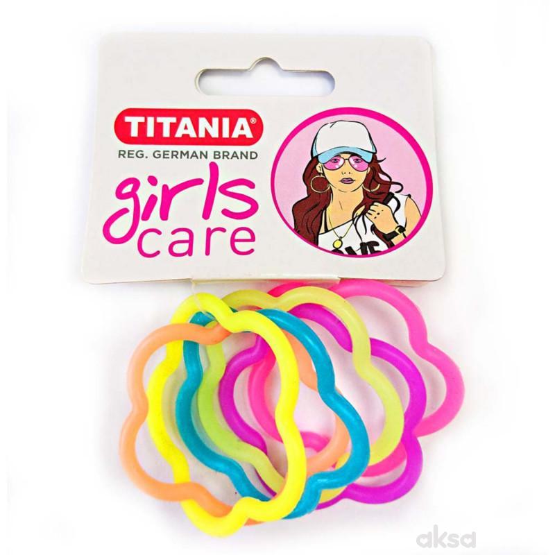 Titania gumica za kosu 6kom 7831