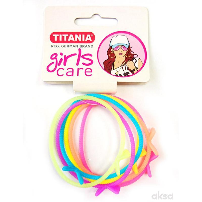 Titania gumica za kosu 6kom 7832