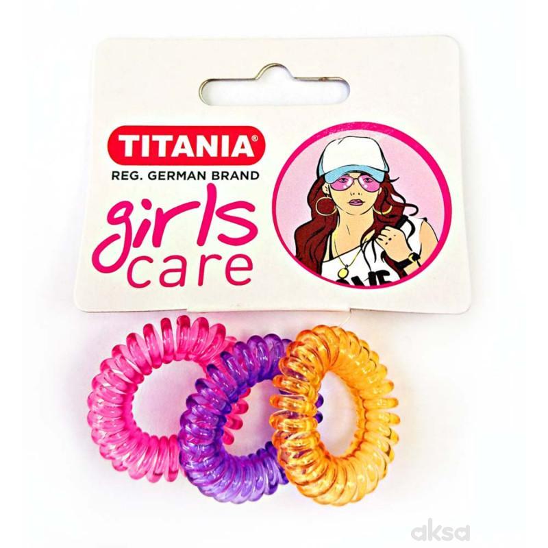 Titania gumica za kosu 3kom 7892