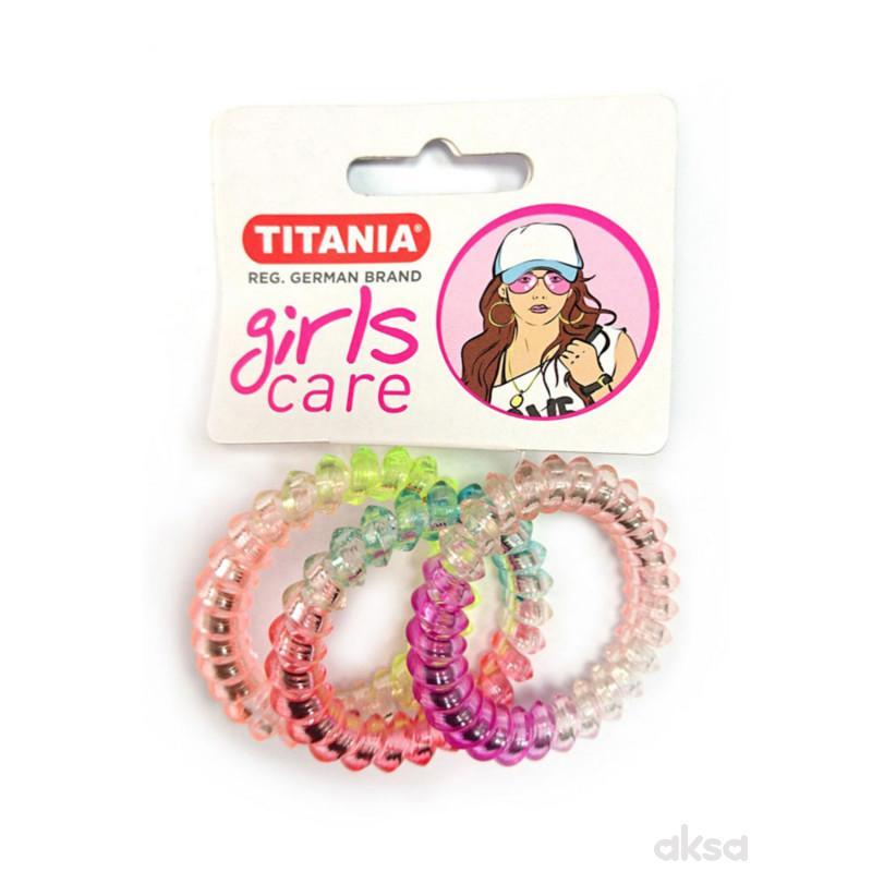 Titania gumica za kosu 3kom 7979