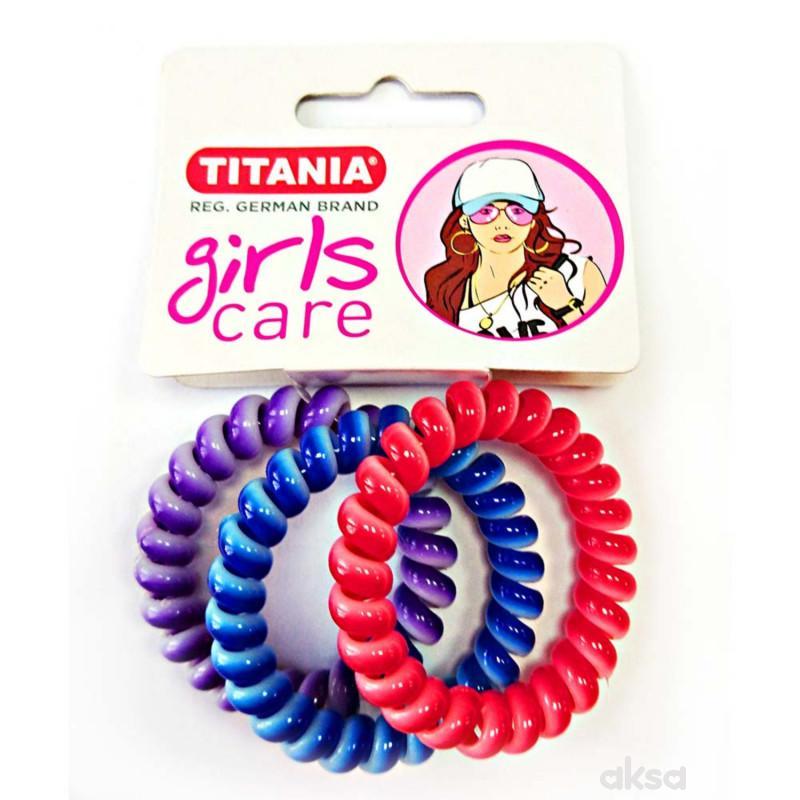 Titania gumica za kosu 3kom 7985