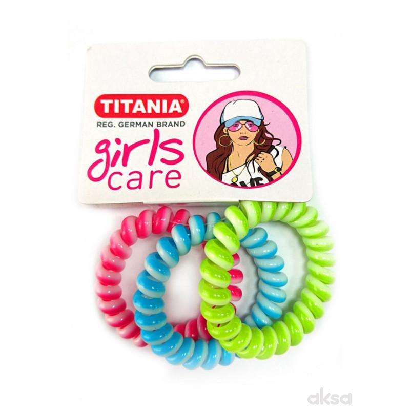 Titania gumica za kosu 3kom 7986