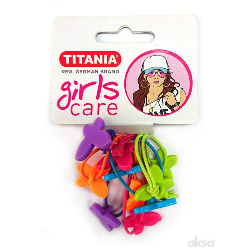 Titania gumica za kosu 5kom 7980