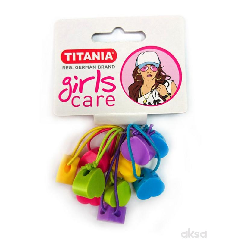 Titania gumica za kosu 5kom 7983