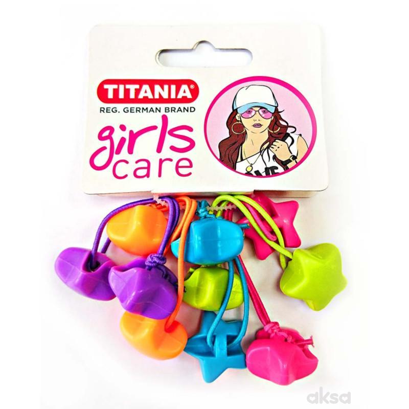 Titania gumica za kosu 5kom 7984