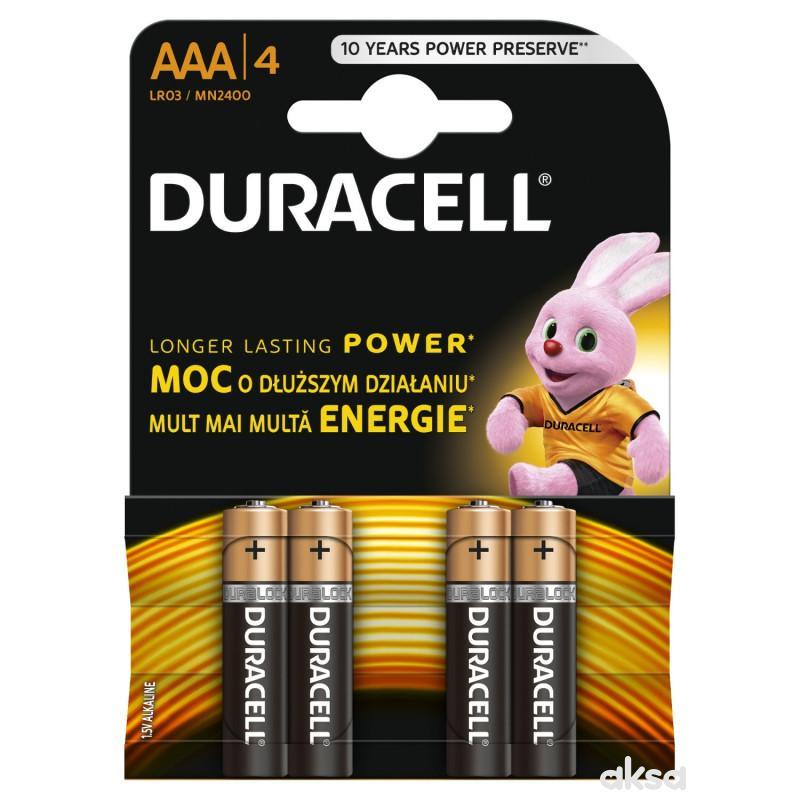 Duracell AAA 4KP