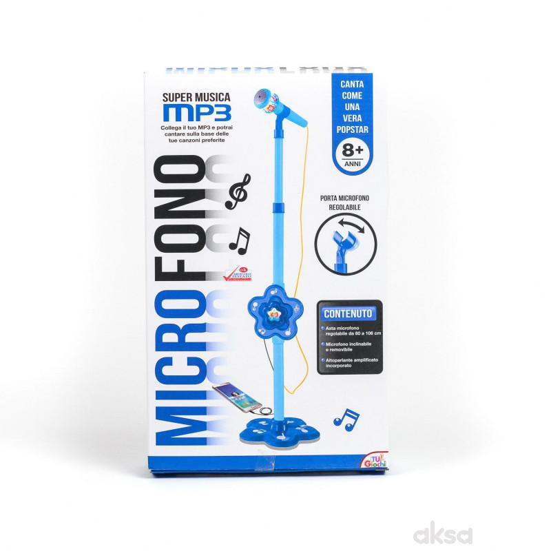 Hk mini igračka, mikrofon plavi