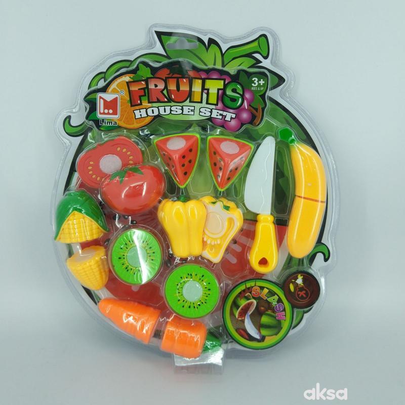 Hk mini igračka, voće i povrće