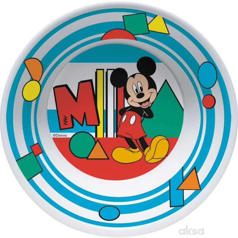 Trudeau činija Mickey 18