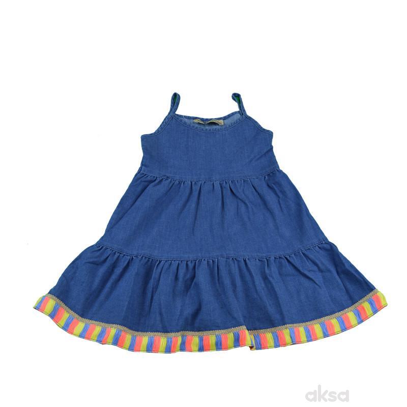 Lillo&Pippo teksas haljina,devojčice