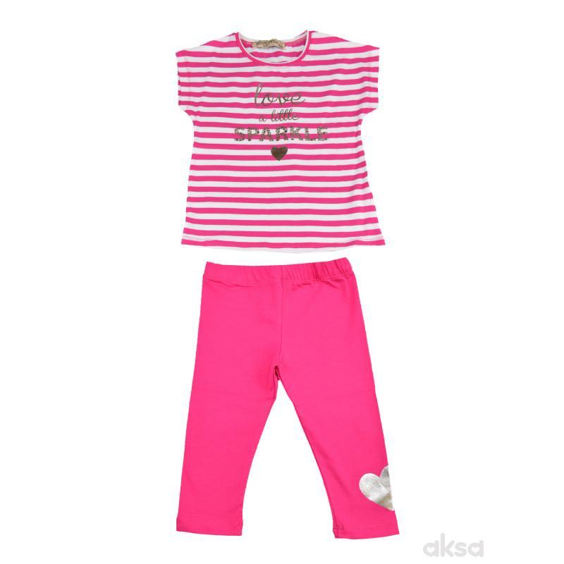 Lillo&Pippo komplet(majica i helanke),devojčice