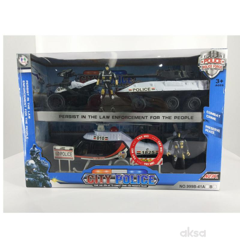 Hk mini igračka, policijski gradski set mali