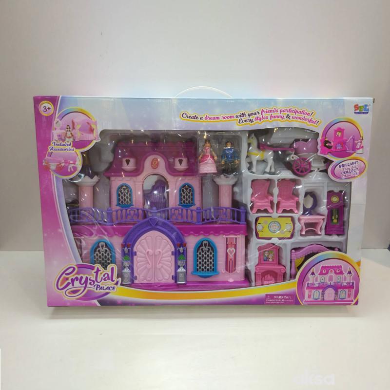 Hk mini igračka, kristalna palata devojčice manja