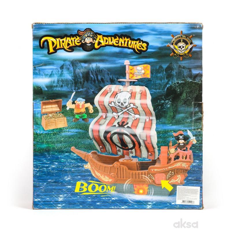 Hk mini igaračka, piratski brod pronadji blago