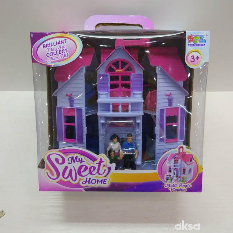 Hk mini igračka, magična kućica za lutke