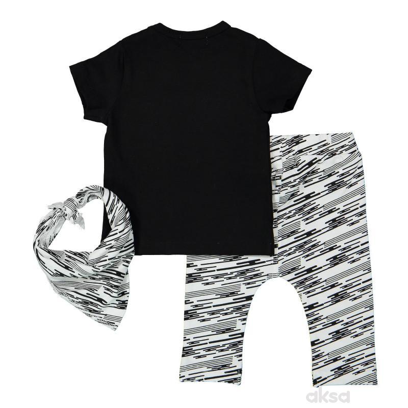 Dirkje komplet (majica kr,d.deo,marama),dečaci