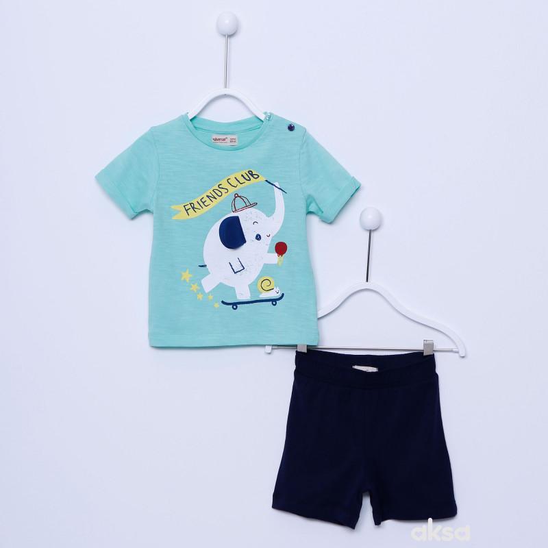 SilverSun komplet(majica kr i šorts),dečaci