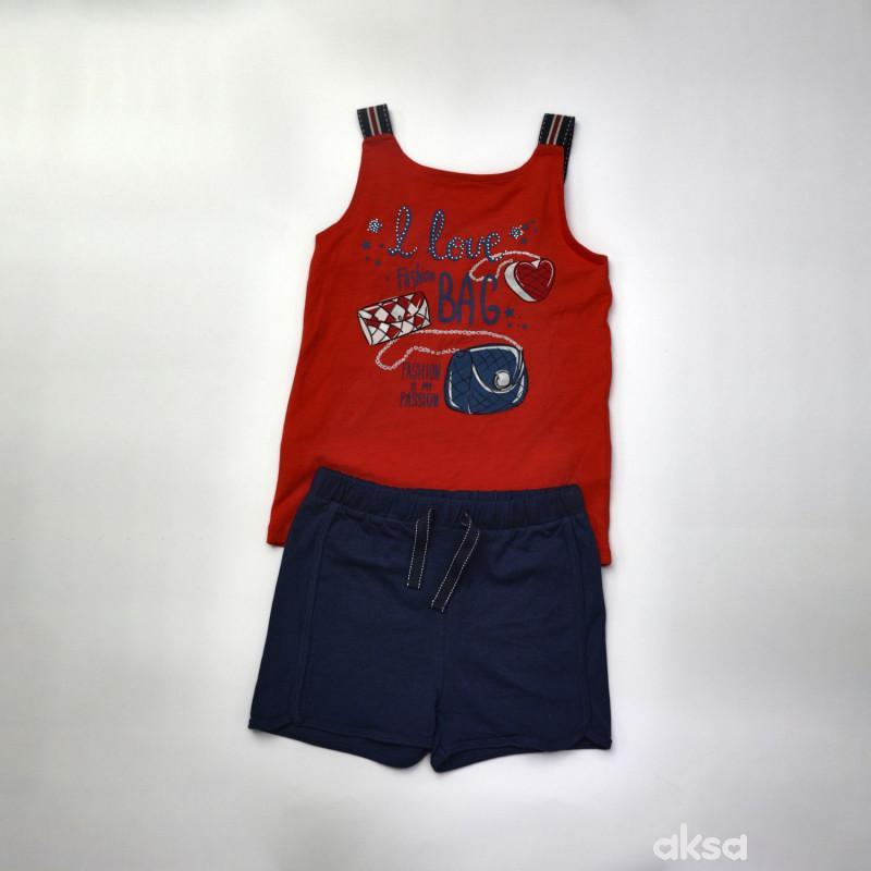SilverSun komplet(majica atlet i šorts),devojčice