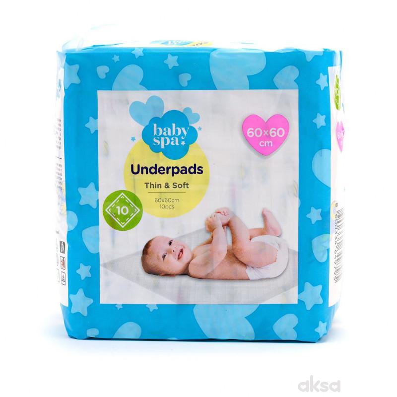 Baby spa podloga za presvlačenje 60x60cm 10kom