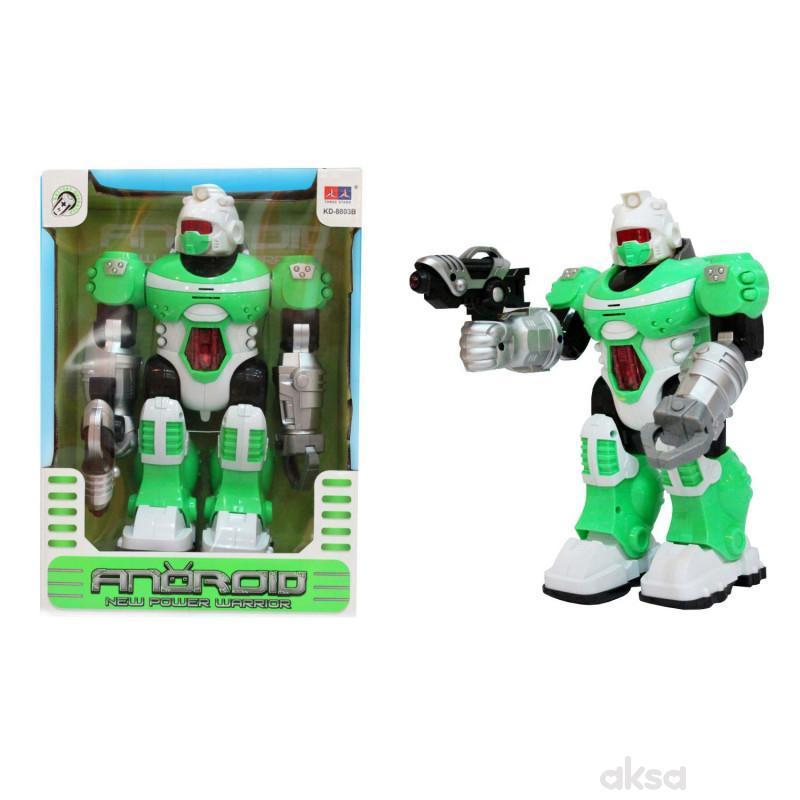 Qunsheng Toys, operativni robot zeleni