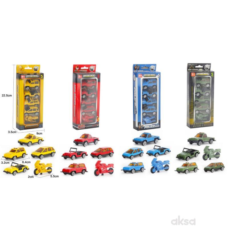 Qunsheng Toys, igračka auto set 5 komada