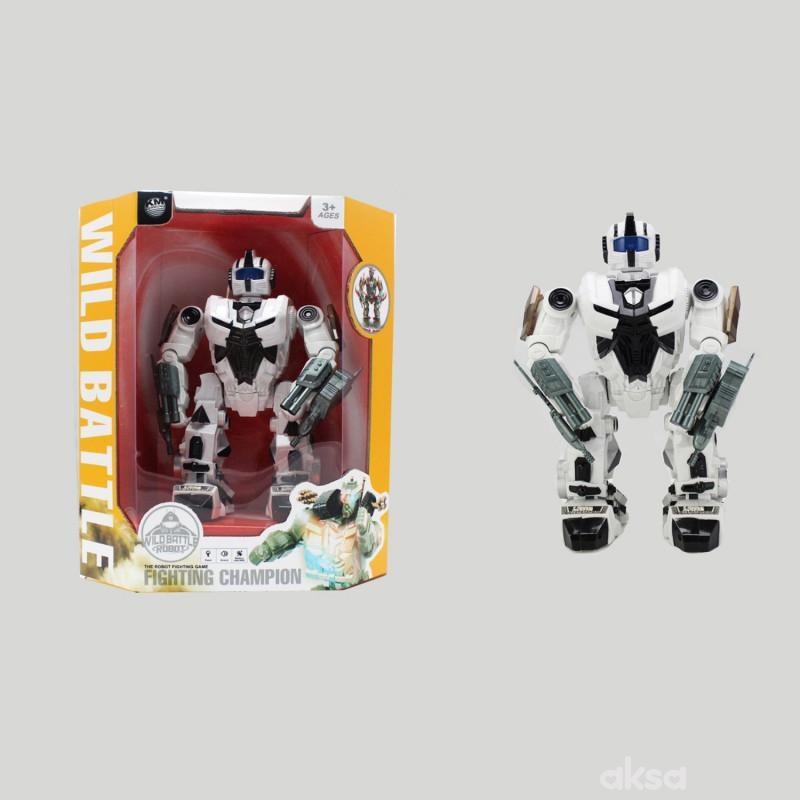 Qunsheng Toys, igračka extra robot beli