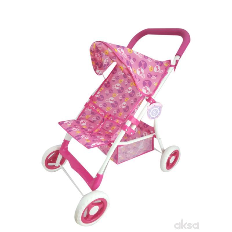Qunsheng Toys, igračka kolica za bebe kišobran lux