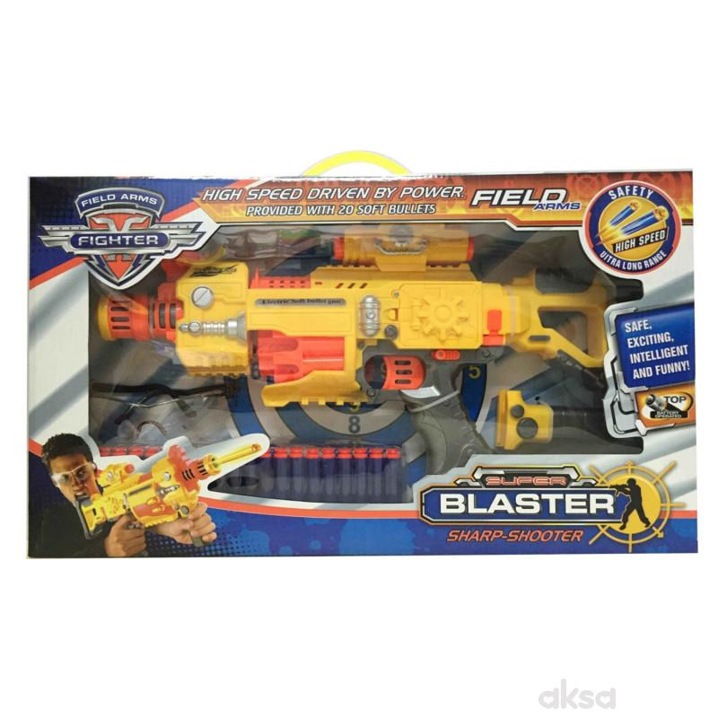 Qunsheng Toys, igračka puška blaster rafal manja