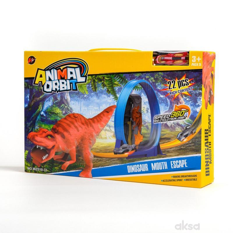Qunsheng Toys, igračka trkačka staza dino