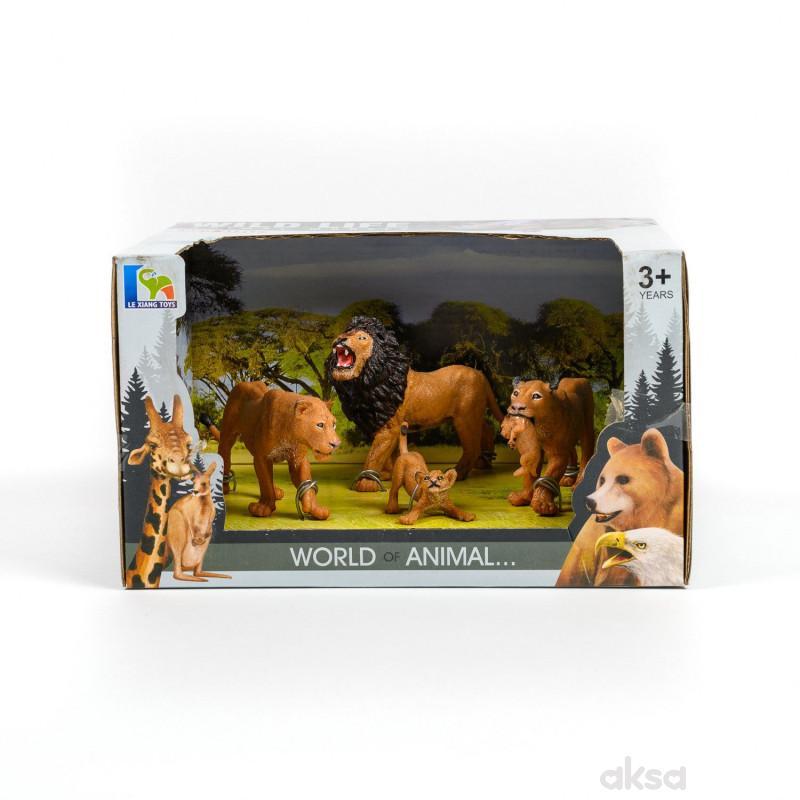 Qunsheng Toys, igračka lav set