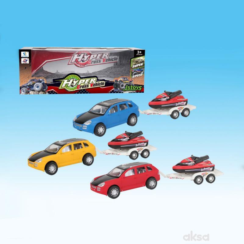 Qunsheng Toys, igračka frikcioni hiper moćni auto