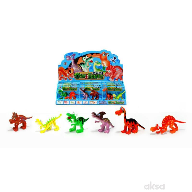 Qunsheng Toys, igračka mali dino displey