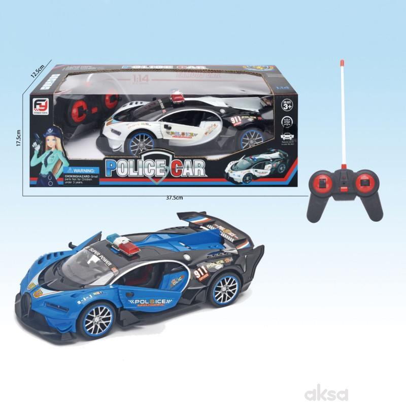 Qunsheng Toys, igračka 1:14 RC policijski auto