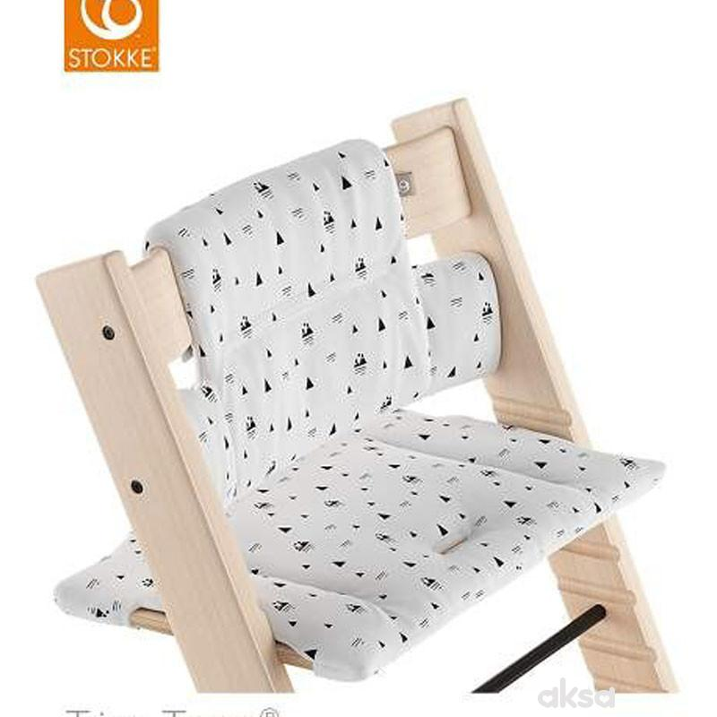 Stokke Tripp Trapp Cushion White Mountains