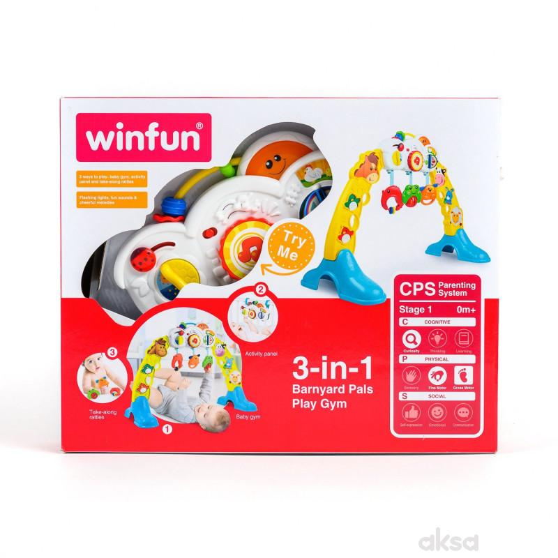 Win fun igračka gimnastika Drugari sa farme 3u1