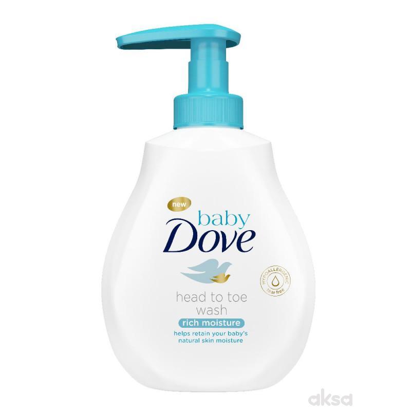 Dove baby kupka i šampon 200ml