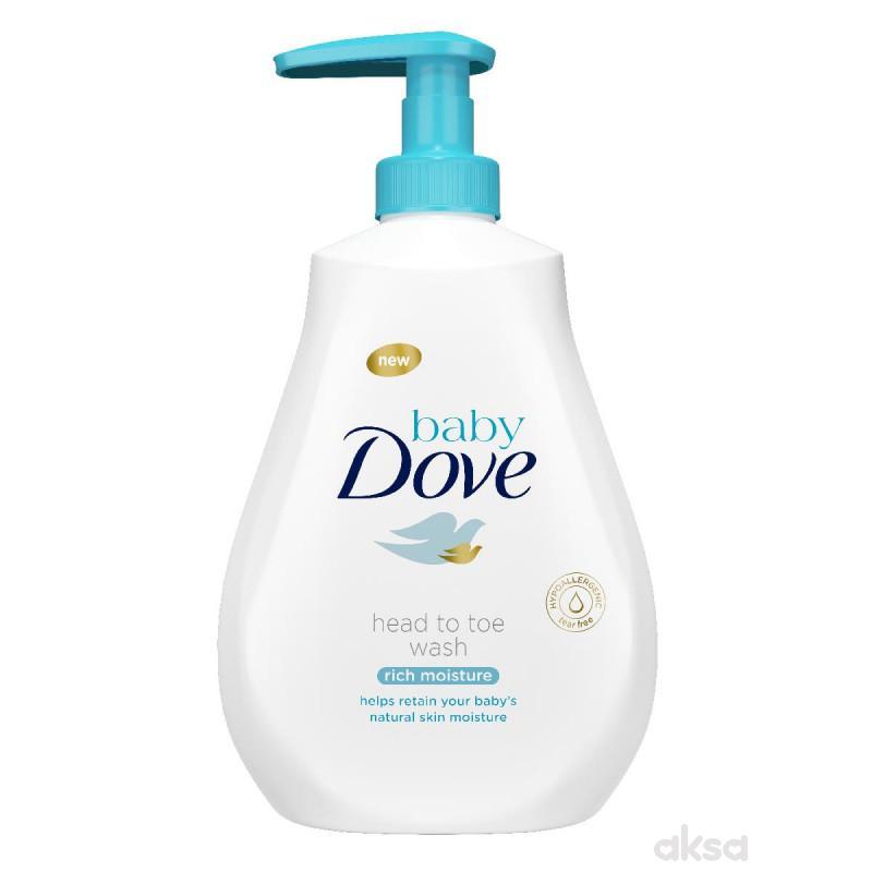 Dove baby kupka i šampon 400ml