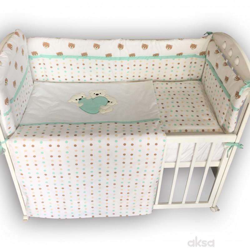 Lillo&Pippo,punjena posteljina,