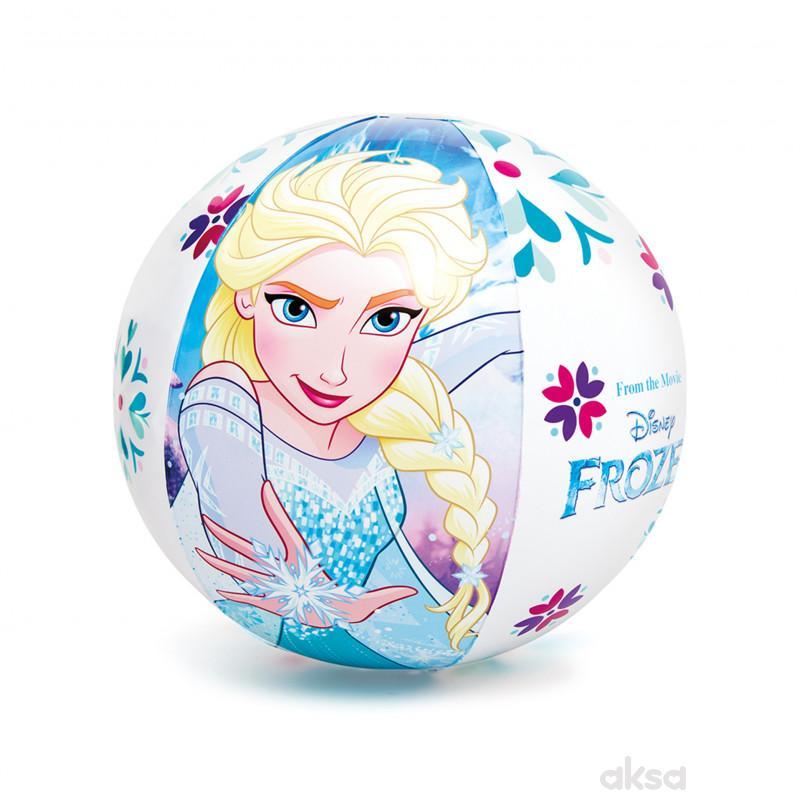 Intex lopta za plažu Frozen  uzrast 3G+ 51cm